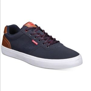 Levi's miles pin perf PU NB 2 sneakers for…